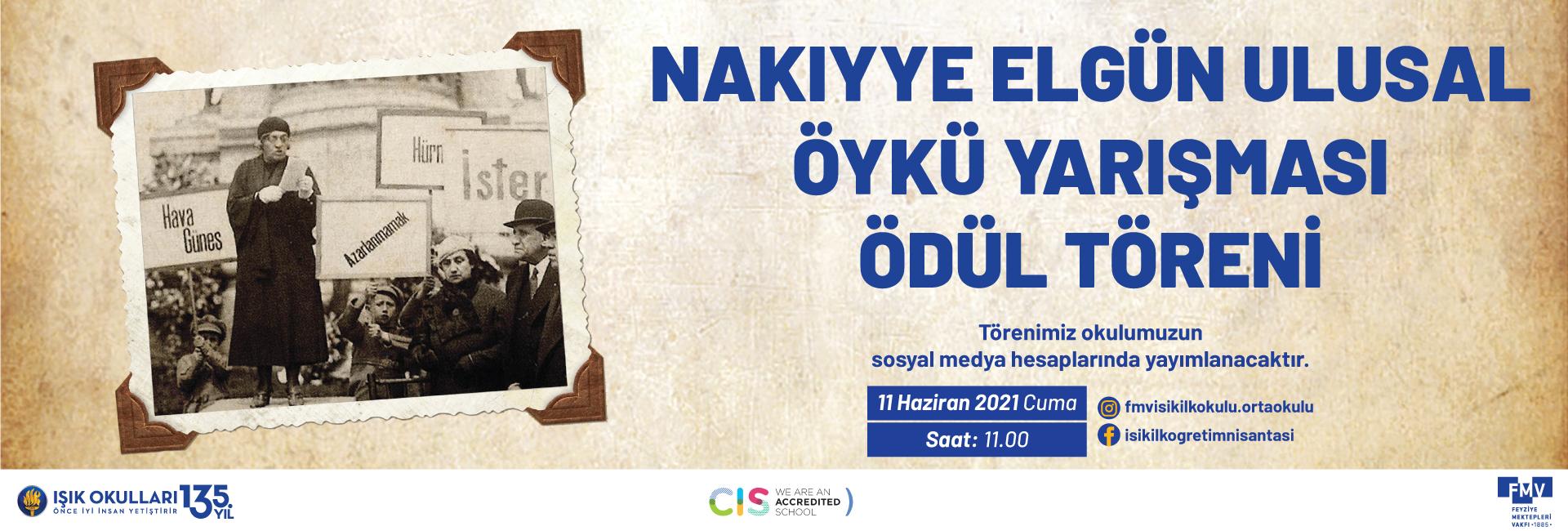Nakıyye Elgün Ulusal Öykü Yarışması