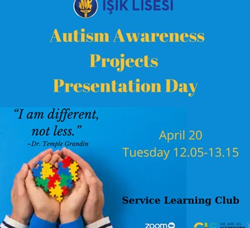 ''AUTISM AWARENESS PROJECTS PRESENTATION DAY'' EVENT