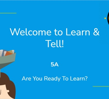 5A Learn and Tell 2
